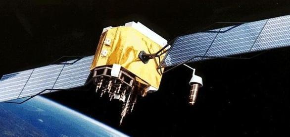 Satélite en órbita baja de la Tierra.