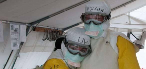 UNMEER/Simon Ruf.Flickr commons. Ebola Unit