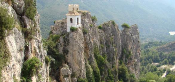 Valle de Guadalest (Alicante) Modelado granítico