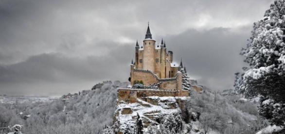 Castillo Alcazar de Segovia en España
