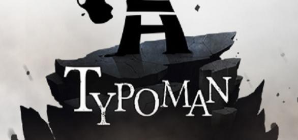 El héroe tipográfico Hero, protagonista de Typoman
