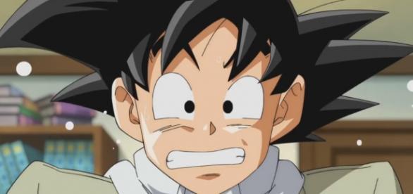 Goku en el capitulo 17 de la serie