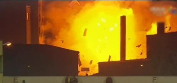 Incendiu la fabrica de paine Vel Pitar din Brasov