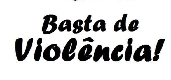 Moradores da cidade querem um basta à violência