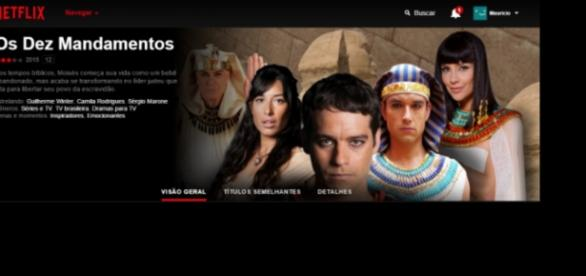 'Os Dez Mandamentos' vai parar no Netflix