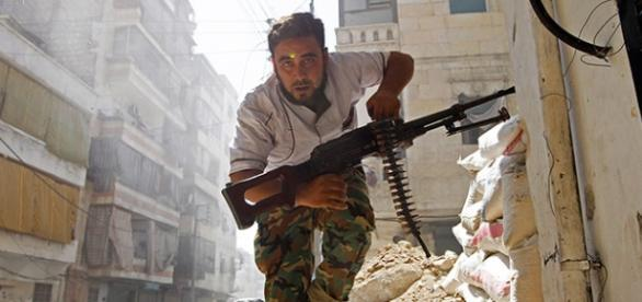 Rebeldes sírios conquistam territórios