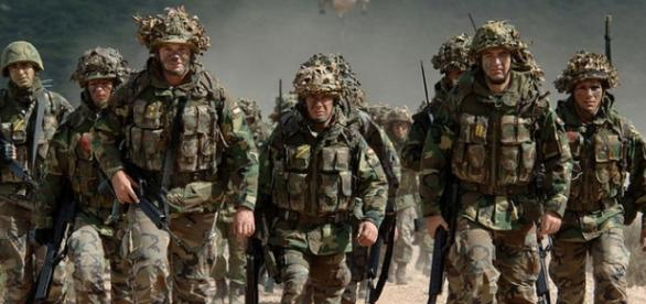 Trupele NATO in misiune, in Europa