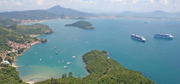 As belezas naturais são atrativo de Porto Belo