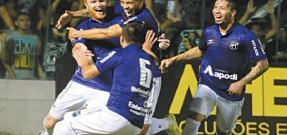 Ceará obtem a sua quarta vitória no grupo