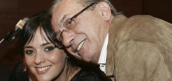Marta Cruz sempre viu o pai como um super-herói