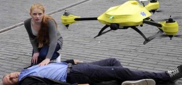 """Protótipo de """"drone-ambulância"""""""