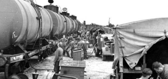 Alemanes se preparan para la operación Barbarroja.