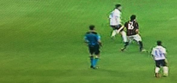 Atalanta pressing blocked Milan's play source