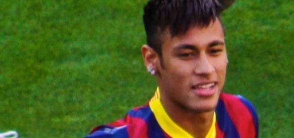 Gran actuación de Neymar en la tarde de hoy