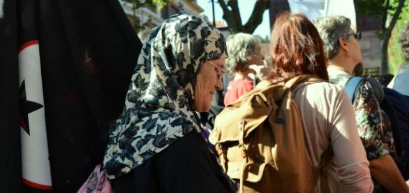 Mujer apoyando el 7N / Sofía Román