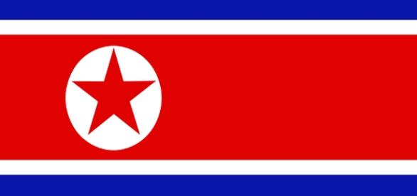 North Korean flag. Credit: ClkerFreeVectorImages