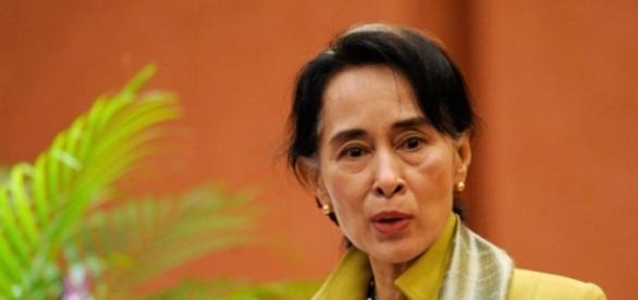 Aung Sun Suu Kyi, premio Nobel per la pace
