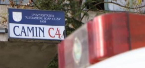 Crimă într-un cămin studențesc din Iași