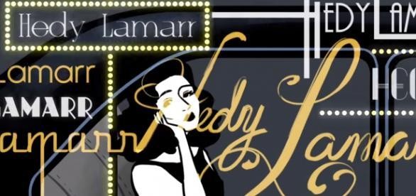 Google Doodle z Hedy Lamarr - efektowna animacja
