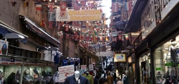 Quartieri Spagnoli, centro di Napoli
