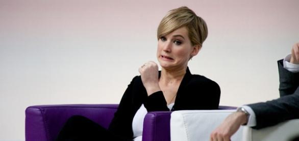 Tribute von Panem-Star Jennifer Lawrence.