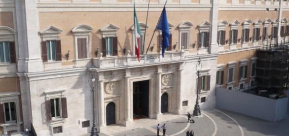 Veduta esterna Palazzo Montecitorio