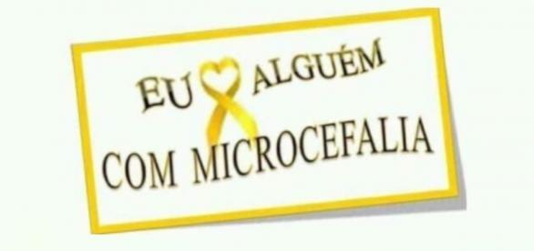 Campanha no Facebook sobre a microcefalia