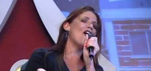 Cantora Beth Guzzo (Reprodução/SBT)