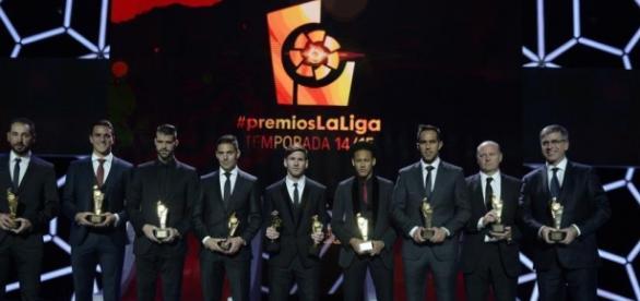 Foto de algunos de los galardonados
