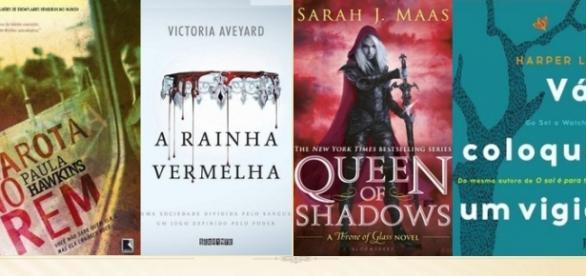 Leitores elegeram os melhores livros de 2015