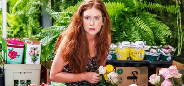 Marina Ruy Barbosa como a florista Eliza.