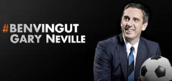Neville, nuevo entrenador. Foto: ValenciaCF