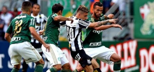 Palmeiras e Santos, certeza de rivalidade