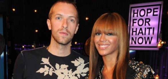 Parceria do Coldplay com Beyoncé