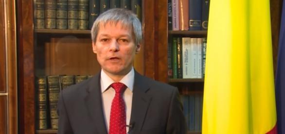 Primul ministru Dacian Cioloş.