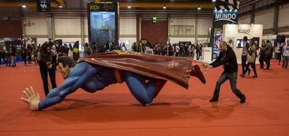 Super-Homem aterrou na Comic Con 2015