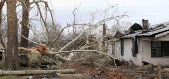 Foram vários os estados dos EUA que foram afetados