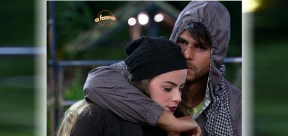 Marcelo e Rayanne juntos após 'A Fazenda 8'