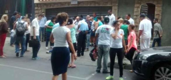 Mulher é assassinada ao sair de banco em BH