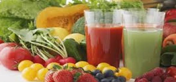 Batidos naturales de frutas y verduras
