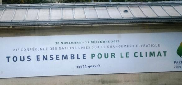 El cartel del Cambio Climático