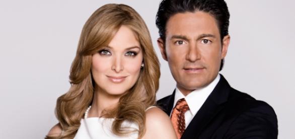 Ensaio do casal em''Porque el Amor Manda'' em 2013