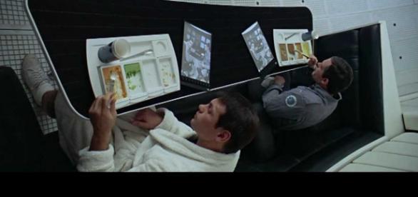 Imagen de la película 2001:Odisea en el espacio