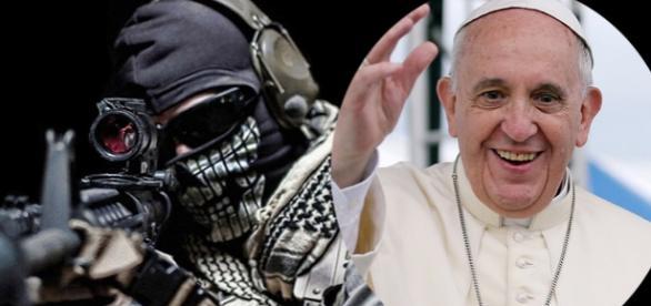 Papa Francisc victima unui atac terorist?