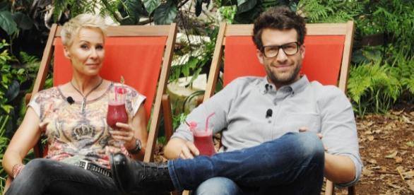 Sonja Zietlow und Daniel Hartwich im Dschungelcamp