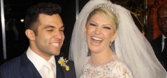 Casamento com Fontenelle termina em barraco