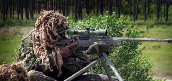 Lunetişti britanici din forţele speciale (SAS)