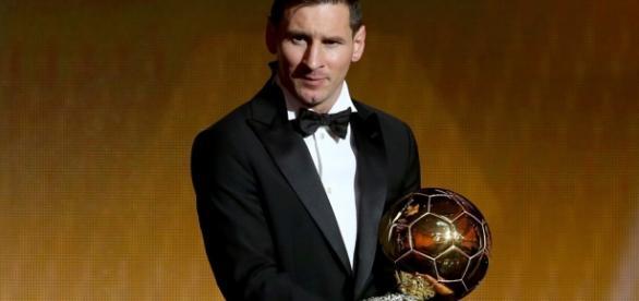 Messi con su quinto Balón de Oro