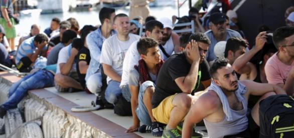 Refugiado estão gostando de Portugal
