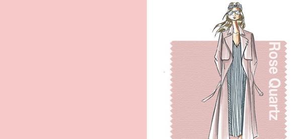 Rosa cuarzo, el color Pantone de 2016